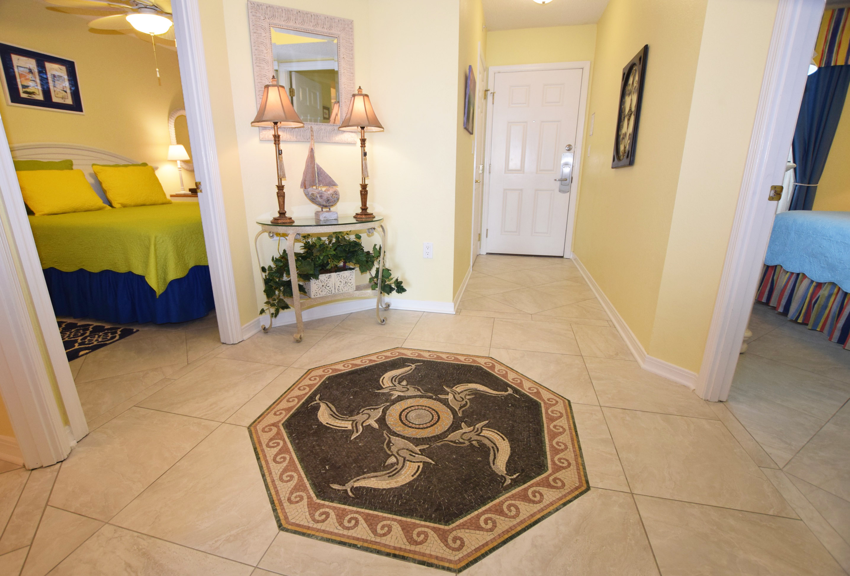 Main Entrance - Islander Beach 4009 Fort Walton Beach Okaloosa Island Vacation Rentals
