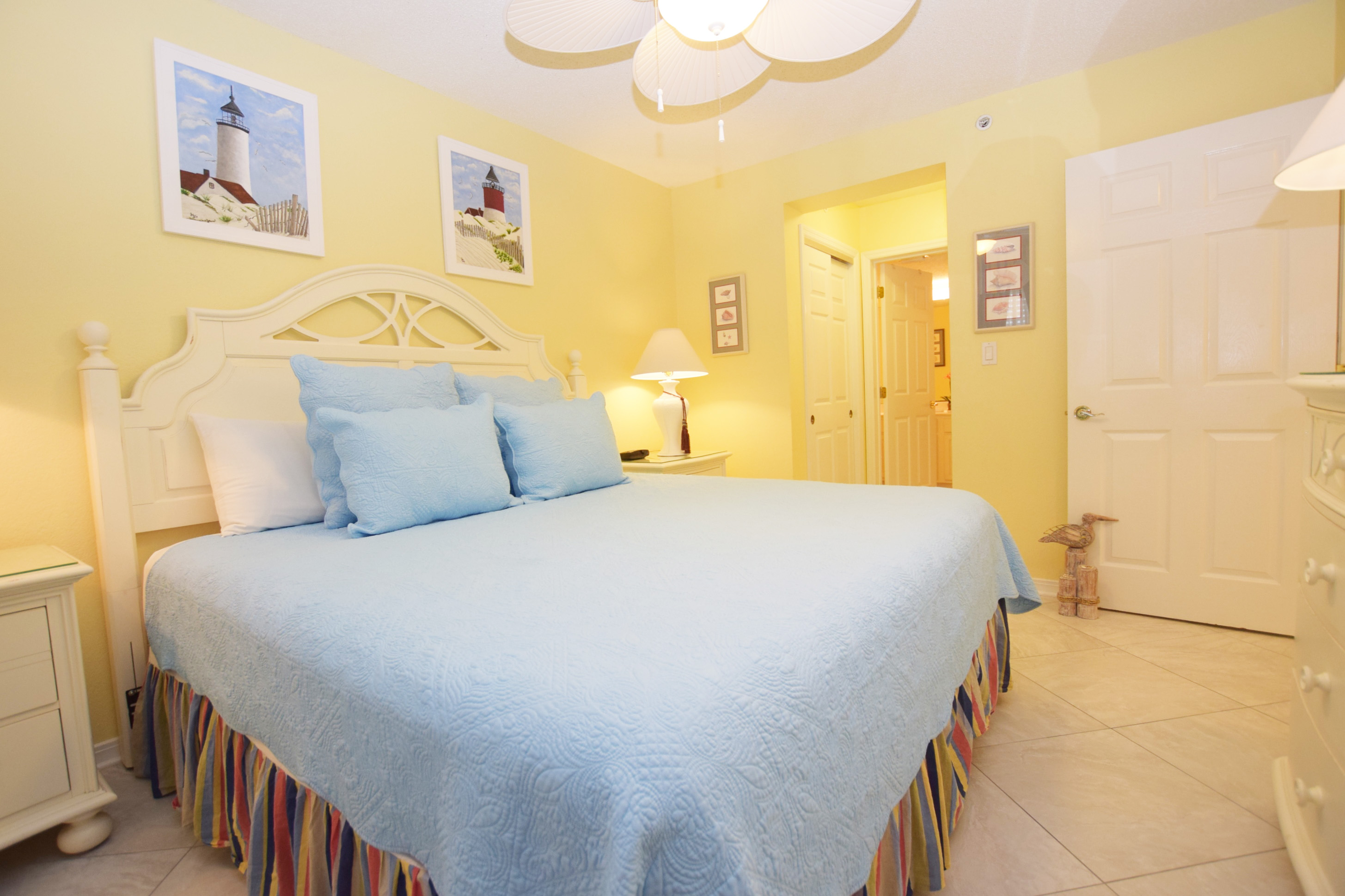 Master Bedroom - Islander Beach 4009 Fort Walton Beach Okaloosa Island Vacation Rentals