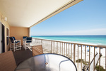 Balcony - Islander Beach 6009 Fort Walton Beach Okaloosa Island Vacation Rentals