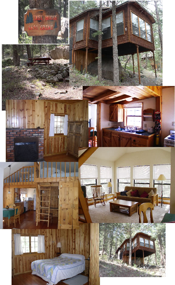 The Tree House: Green Mountain Falls CO 1 Bedroom Vacation