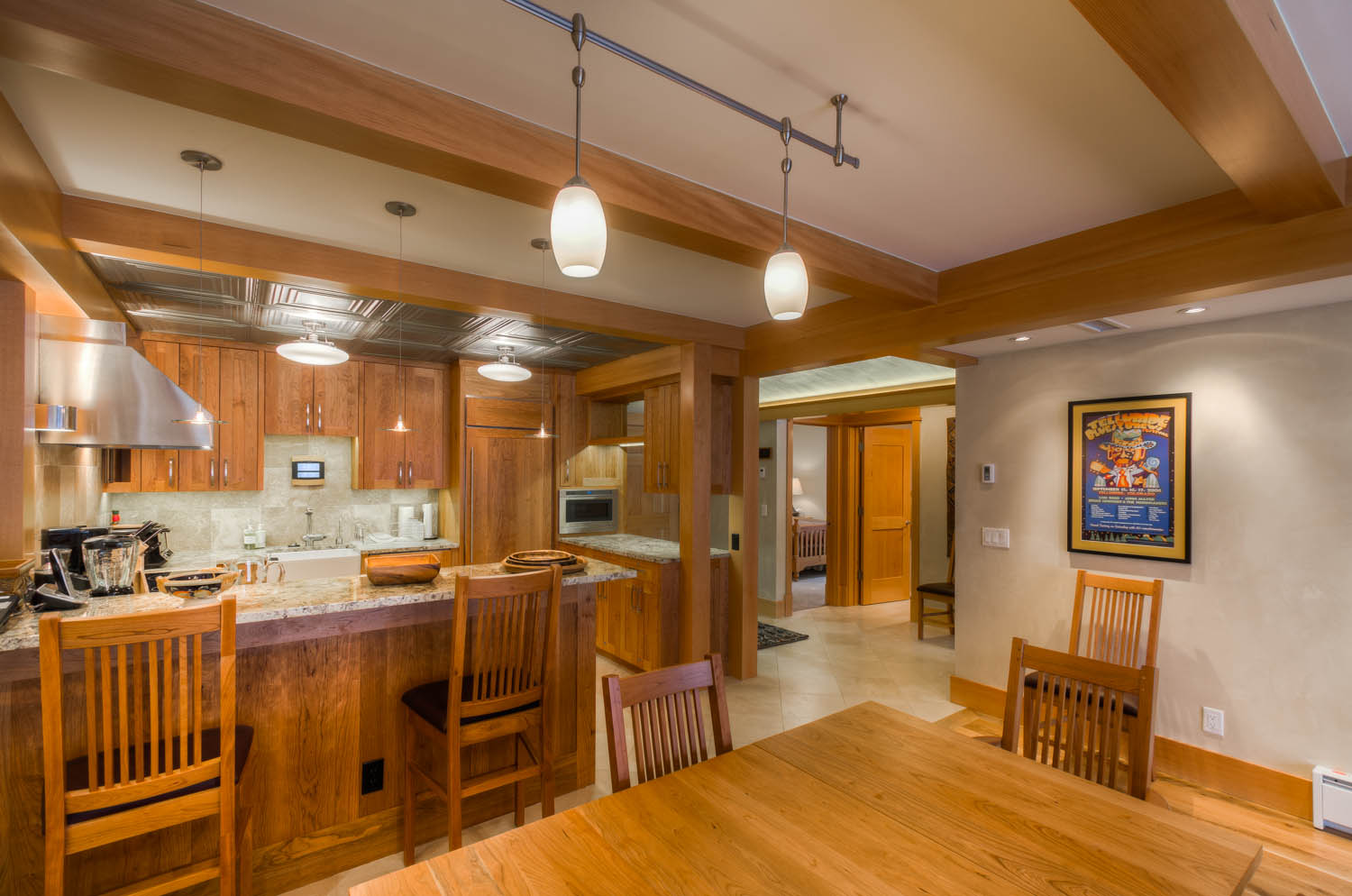 Dining to Bedroom hall