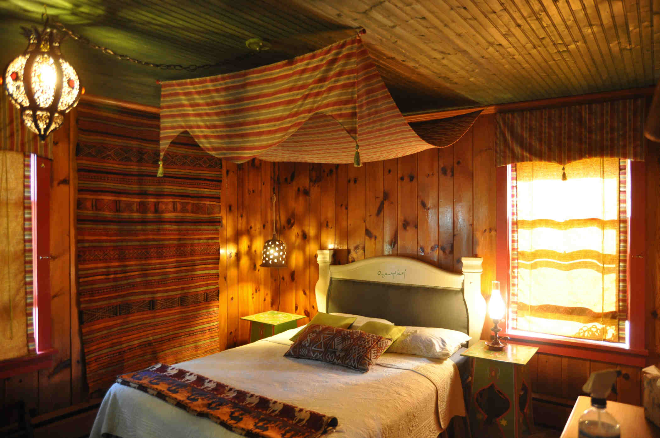The Moroccan bedroom