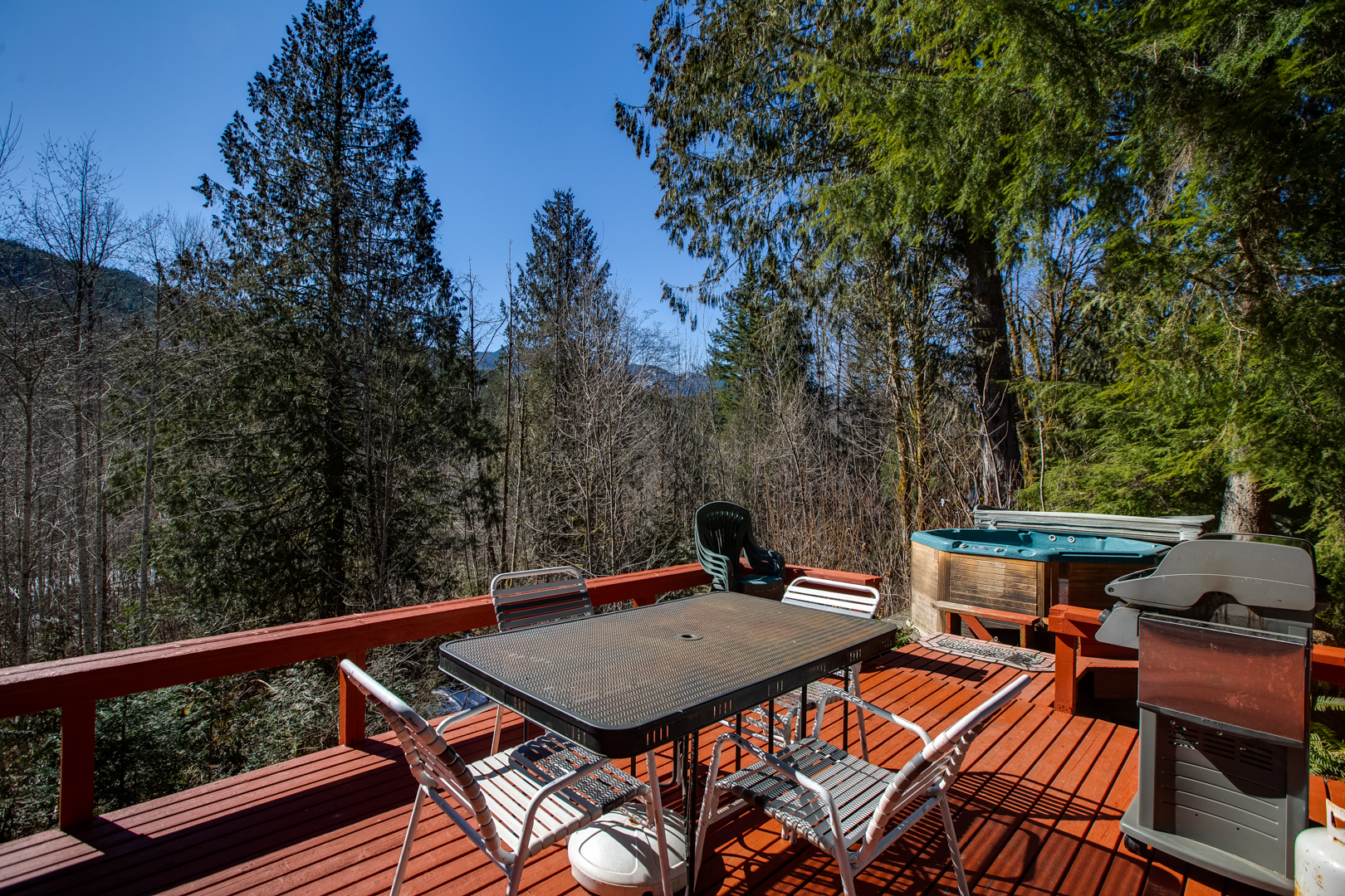 Enjoy the view on back deck