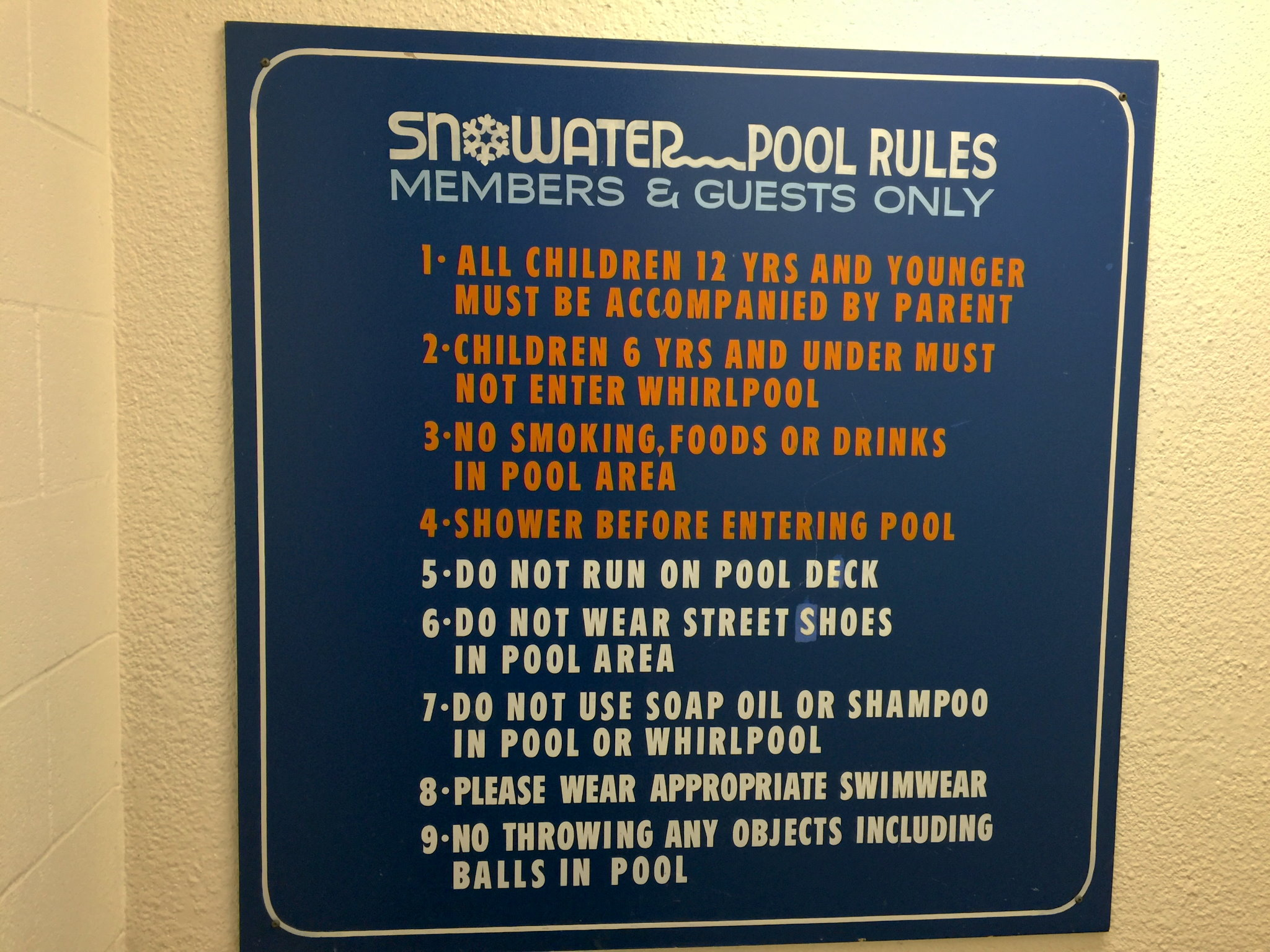 Snowater Community Amenities