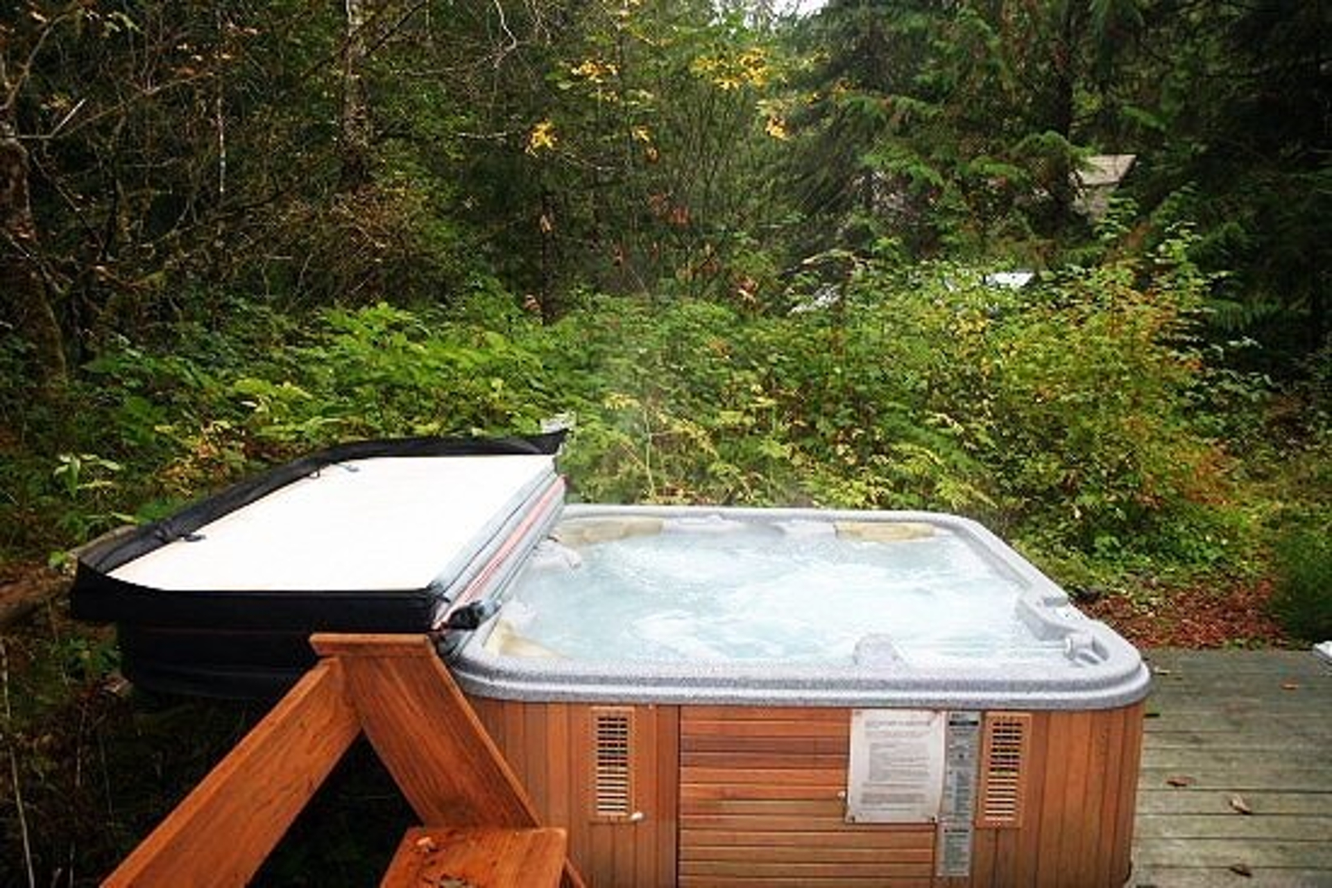 Your private hot tub