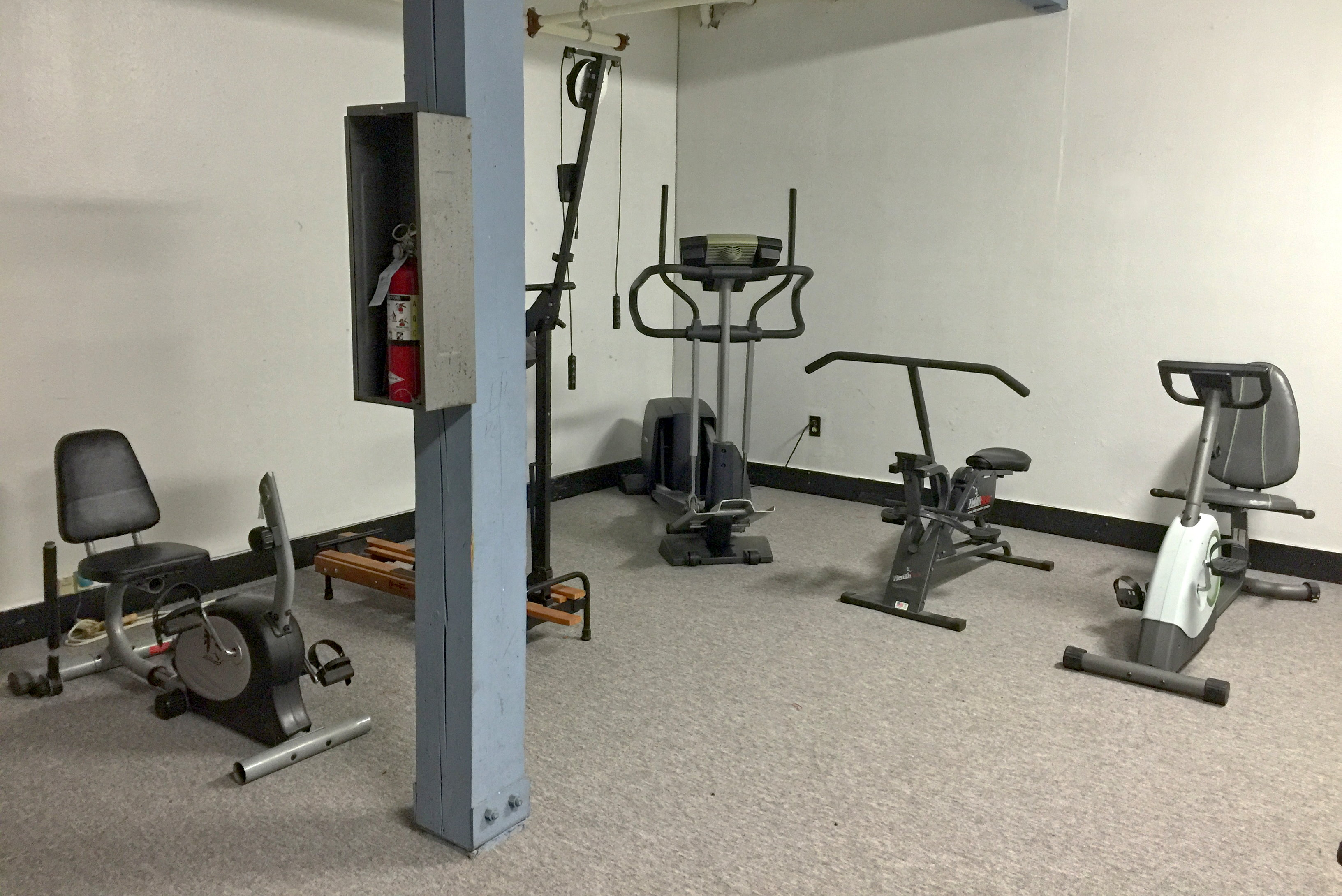 The work out room