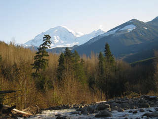 Enjoy a beautiful scenic walk well visiting Glacier Springs.