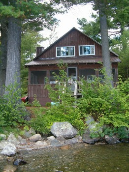 Cottage from the Kayak