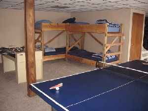 The bunkbed area is great for the kids (adults are OK, too!)