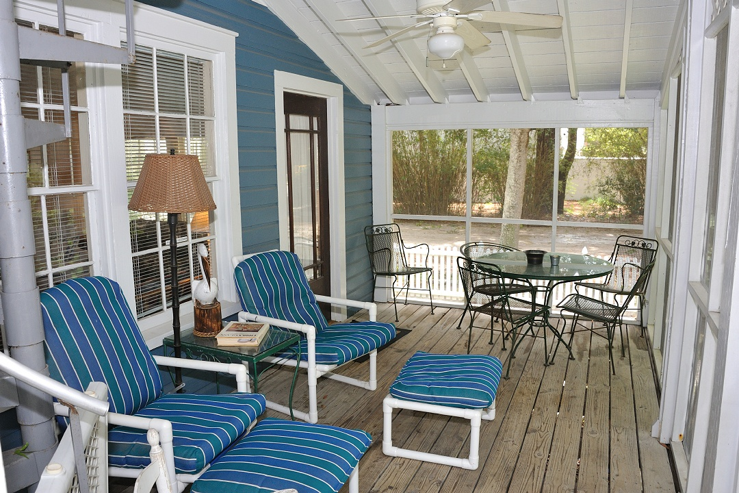 Section of Screened in Porch