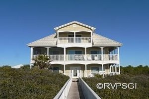 St. George Island 5 bedroom beach front vacation home