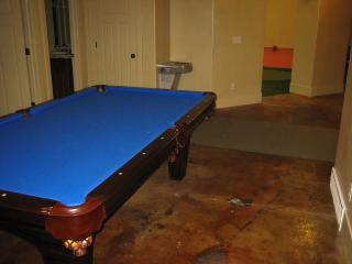 Pool table room.  Right close by the playground area.