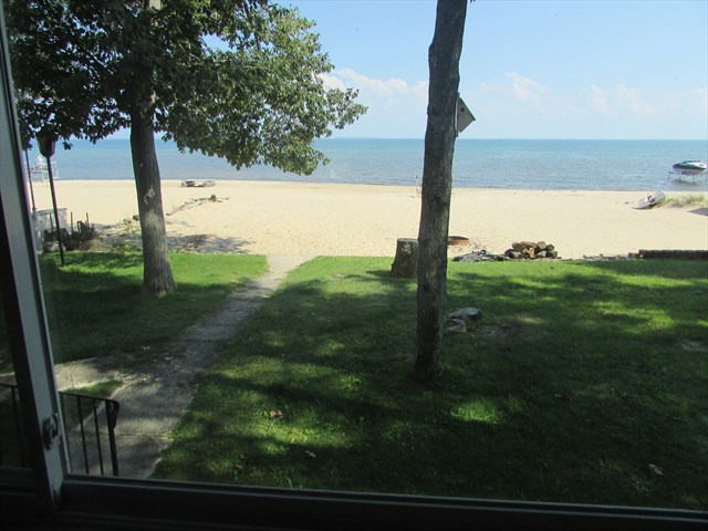 View of Lake from Sunroom