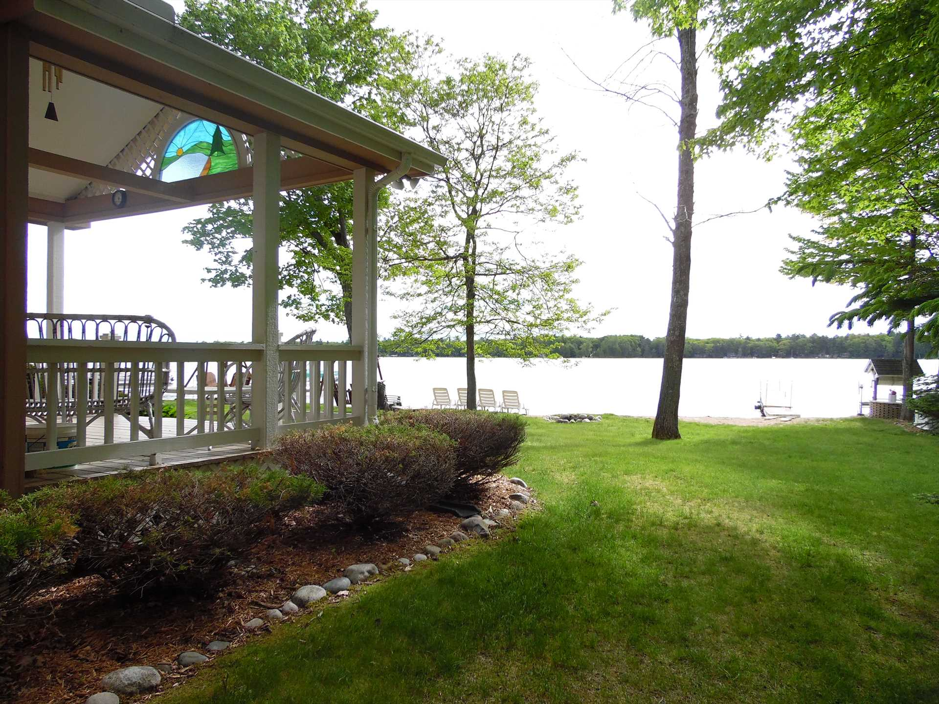 View of Water from Deck