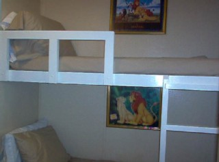 Bunk Beds for the young ones!!