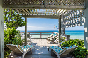 Pergola View of Gulf & Beach