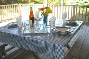 Outdoor Eating Area/Lower Deck