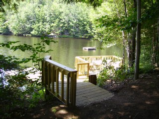 Waterside Deck, Dock and Swim Platform