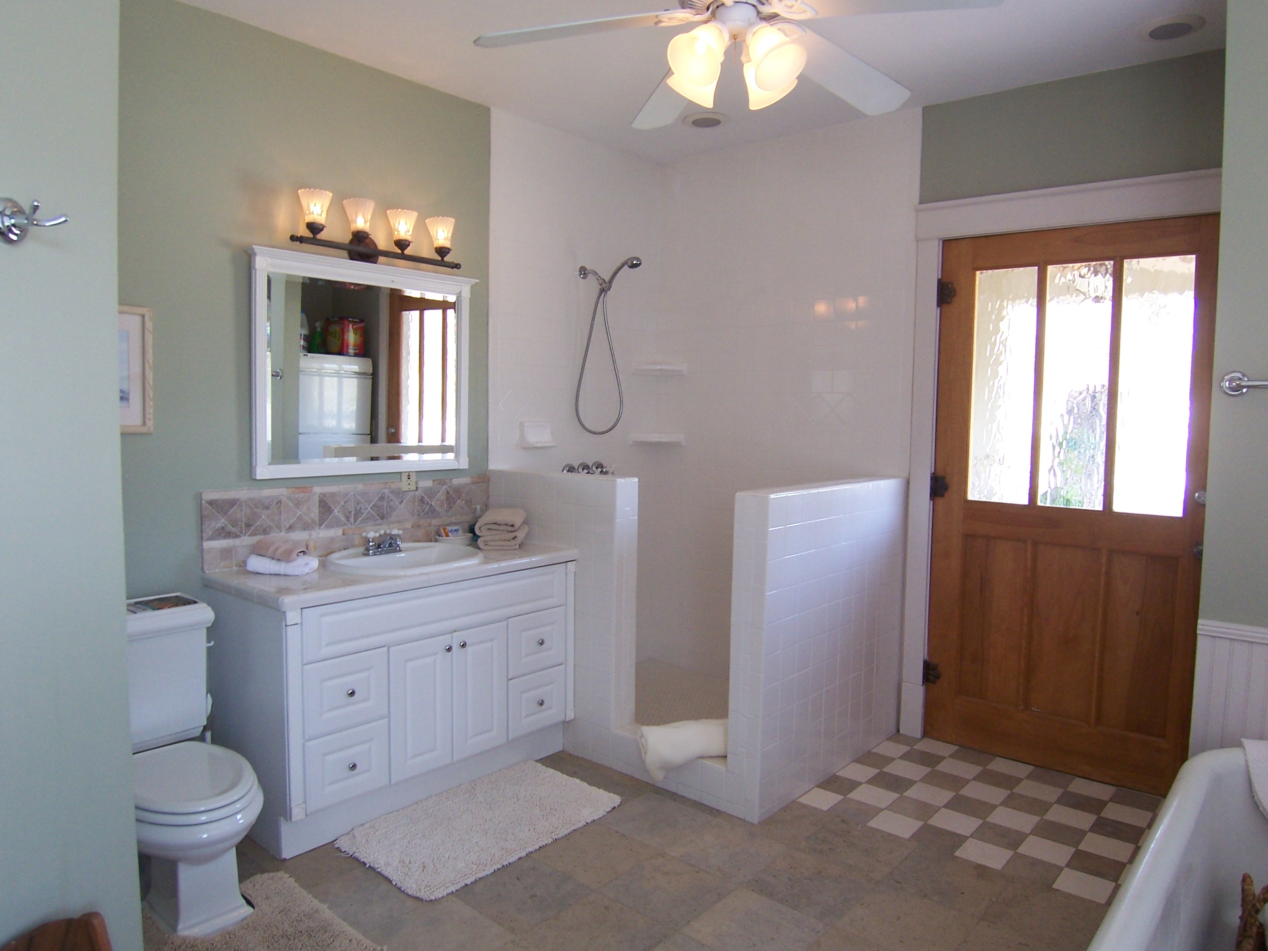 Master Bathroom  (shower only)