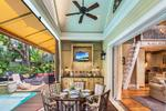 Southernmost Bliss has spacious indoor and outdoor living areas...