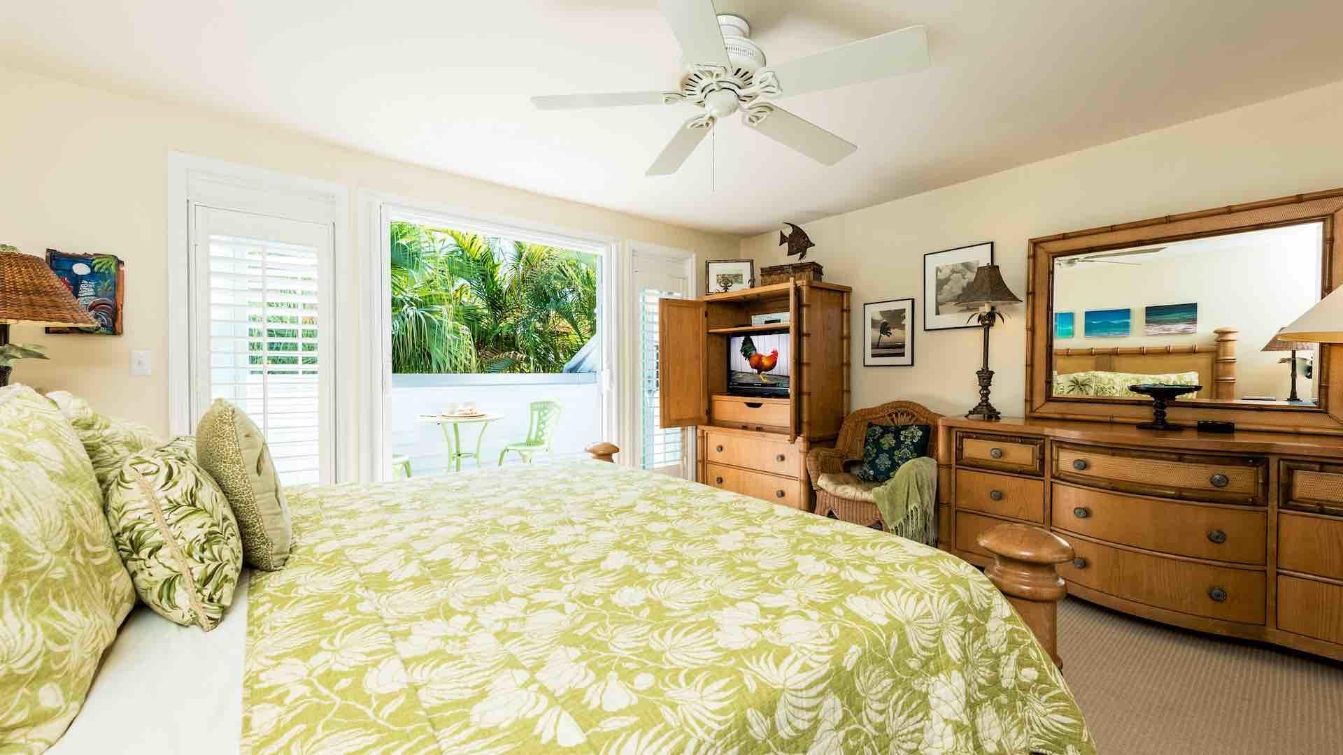 The entire second floor is the master suite...