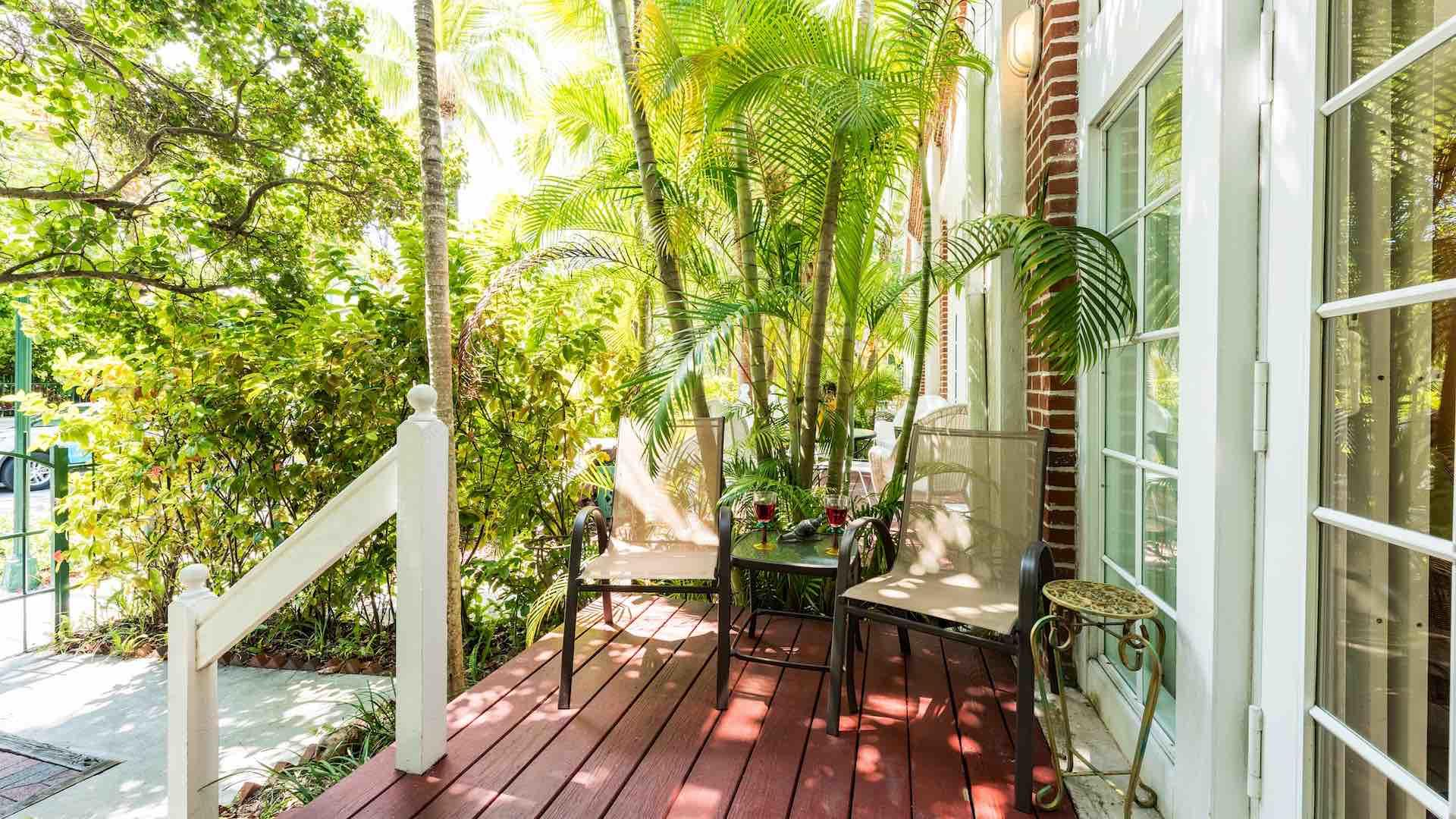Villa Bahama is located at The Foundry, within the gated community of Truman Annex...