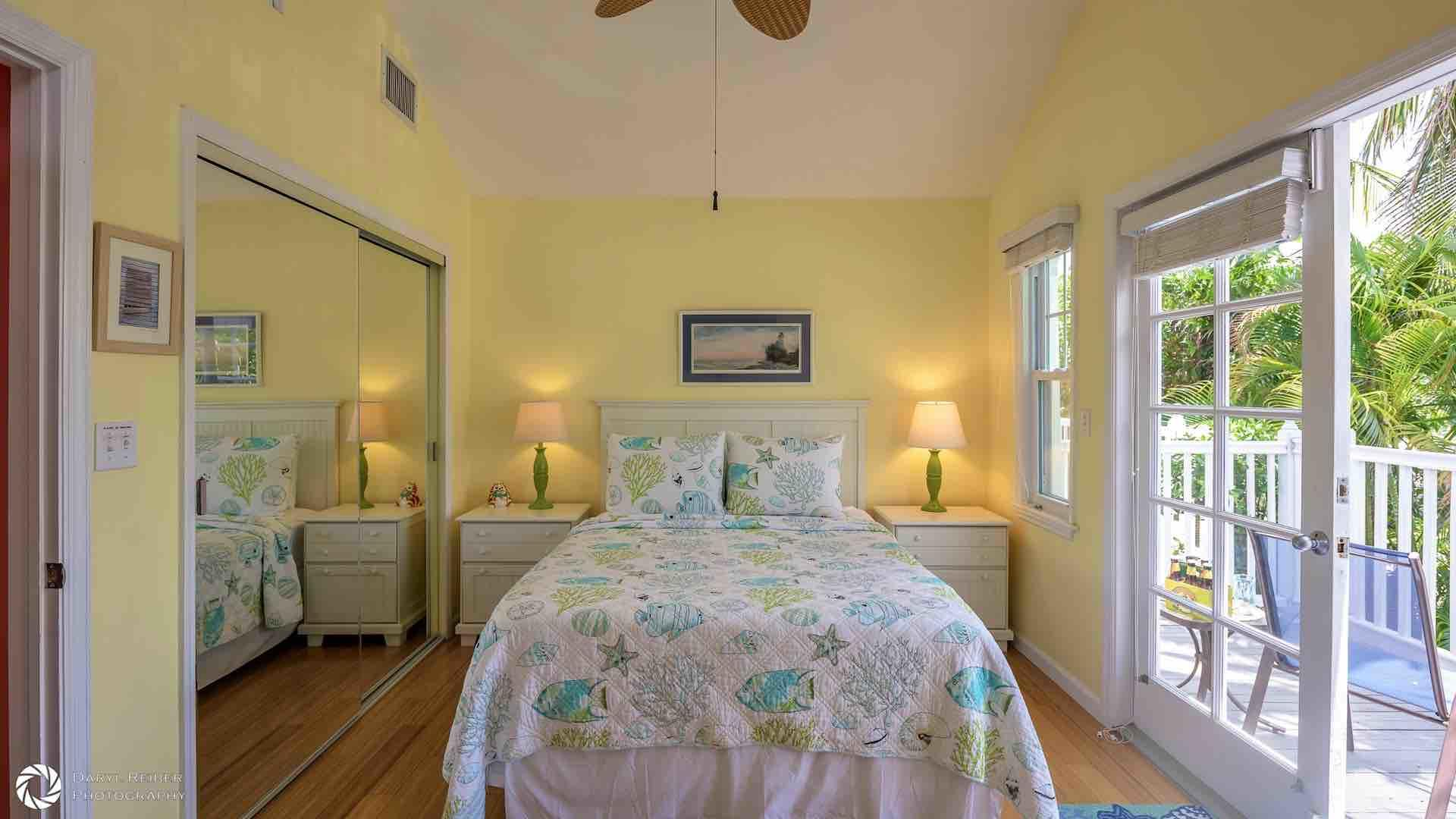 With the French doors open, you will enjoy those tropical breezes day & night...
