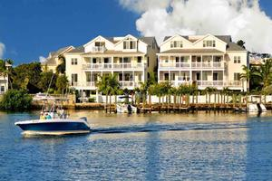 The Commodore's Manor is a beautiful 5 bedroom 3,500 sq ft townhome that is located directly on the water at Garrison Bight Marina...
