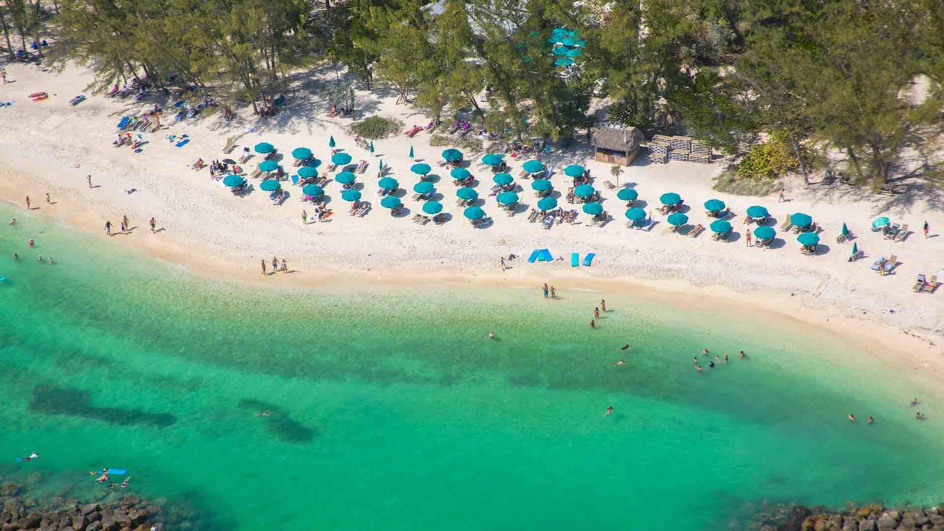 Fort Zachary Taylor State Park Beach is located about a mile away...