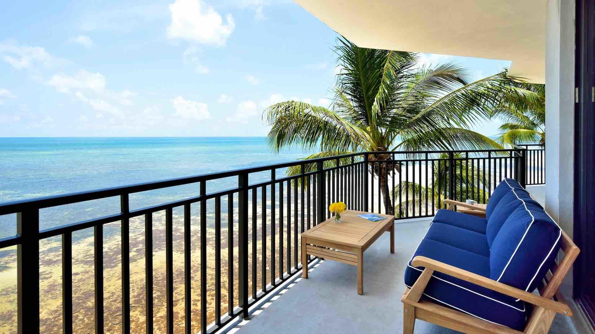 You could sit out on your balcony all day to admire the views of the Atlantic...