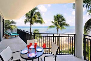 The views from your wraparound balcony are spectacular...