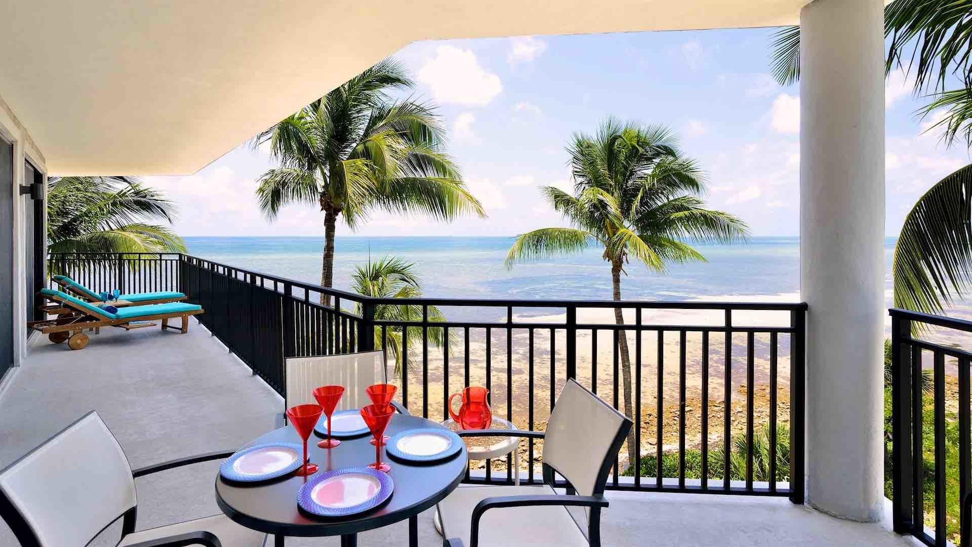 Oceanfront 3 bedroom condo in Key West available nightly