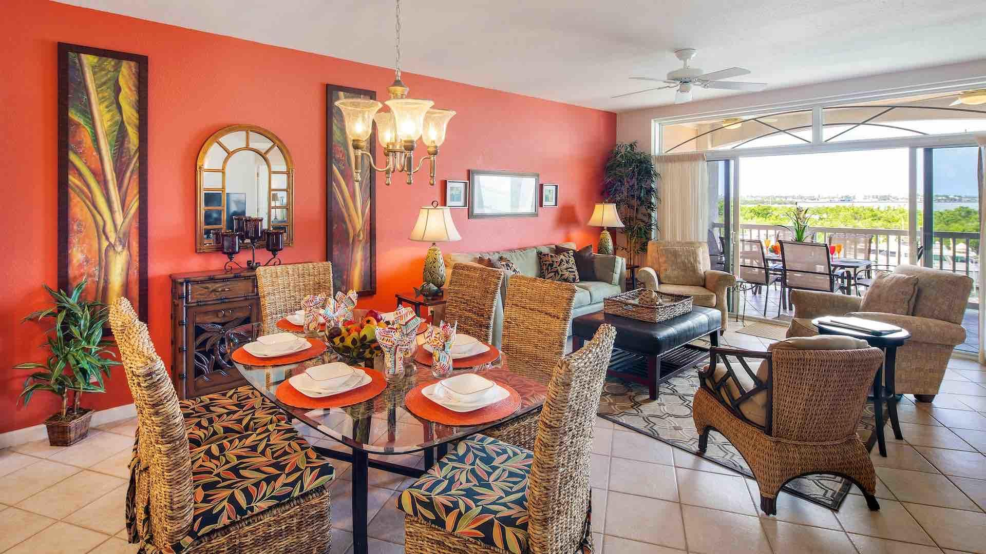 This 1658 square foot condo has been designed and furnished to a level you will seldom see in a vacation home...