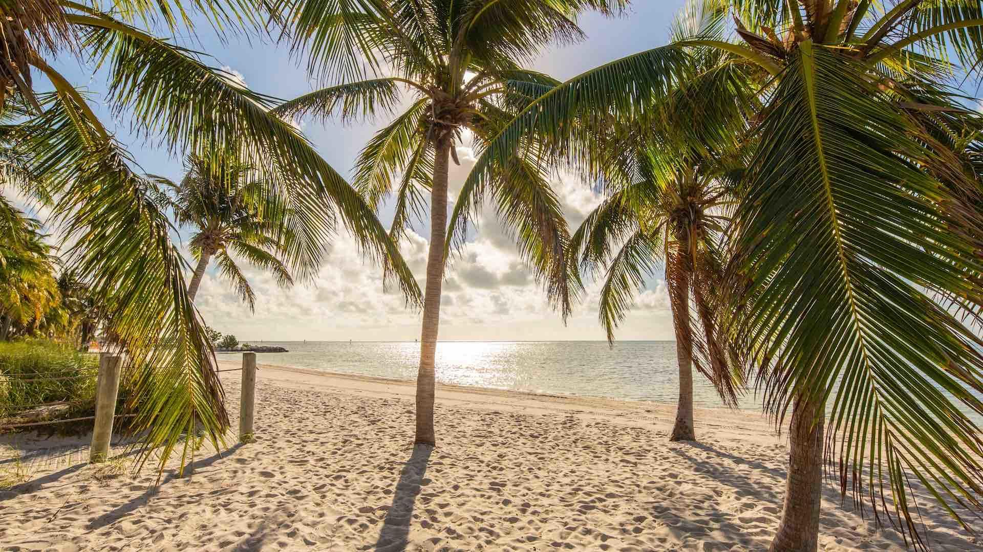 Experience a Key West sunset from the beach during your stay...