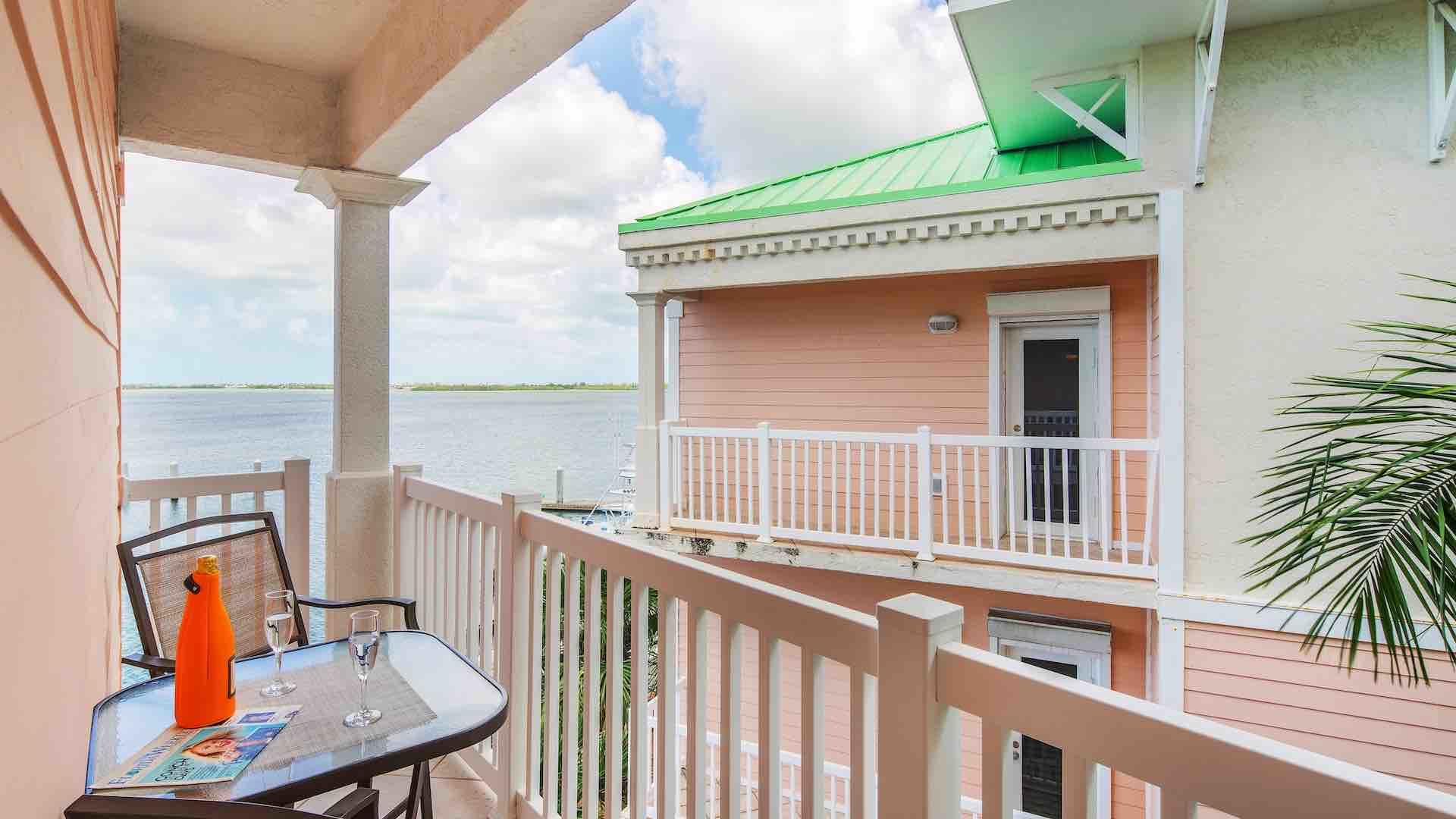 The master balcony has a 3 piece bistro set for relaxing outdoors...