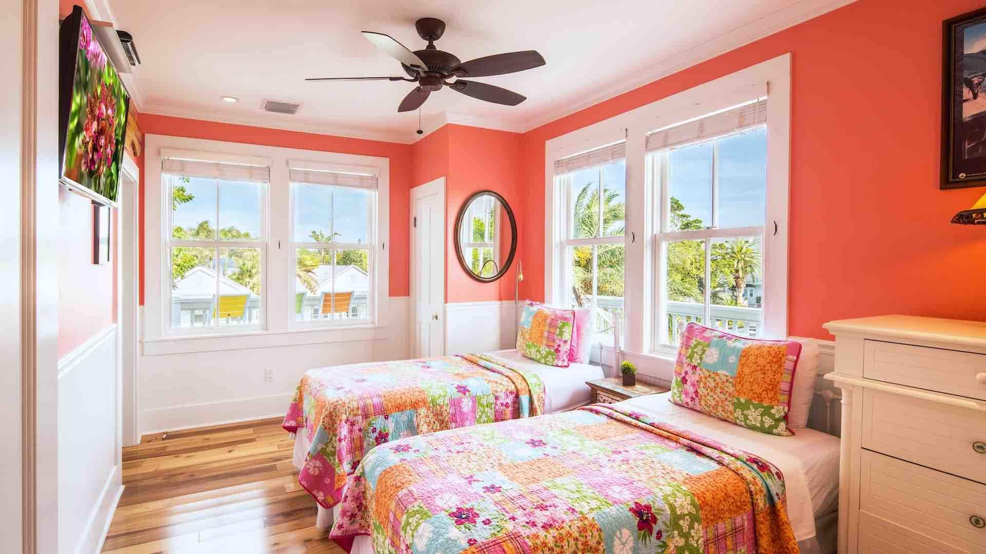 The fifth bedroom is the Jimmy Buffet Room...