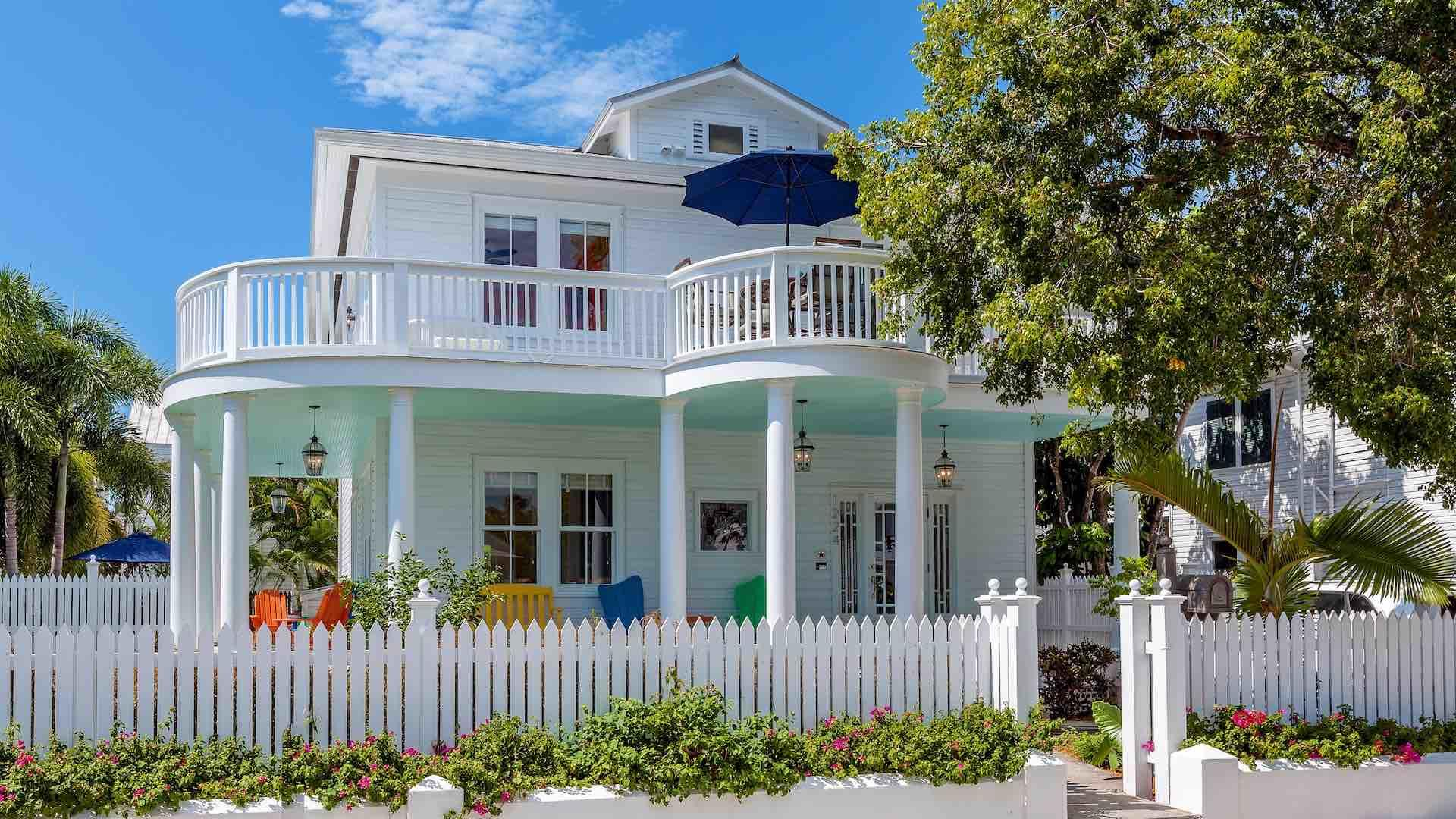 The exterior view of Southernmost Hospitality V...