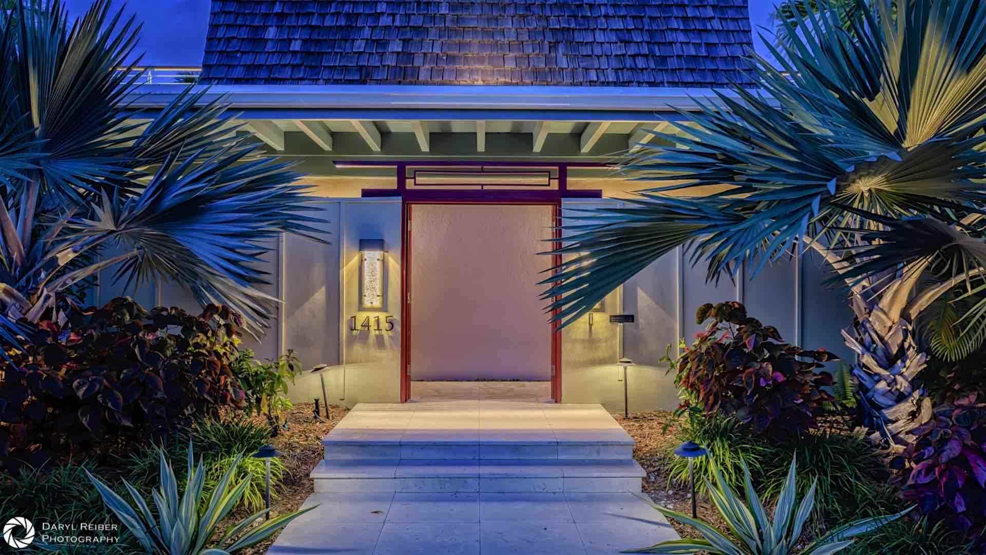 This luxurious ranch-style estate recently underwent a massive renovation, and not a single expense was spared...