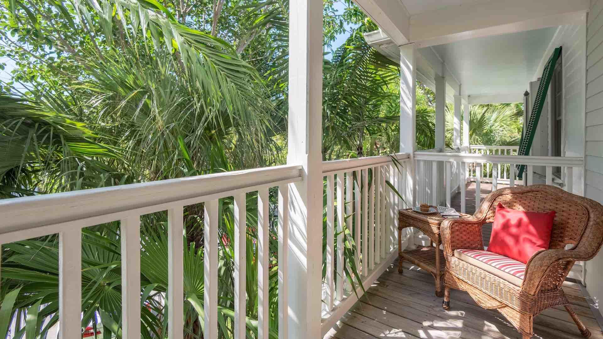 The second bedroom balcony is the perfect place to sip your morning coffee...