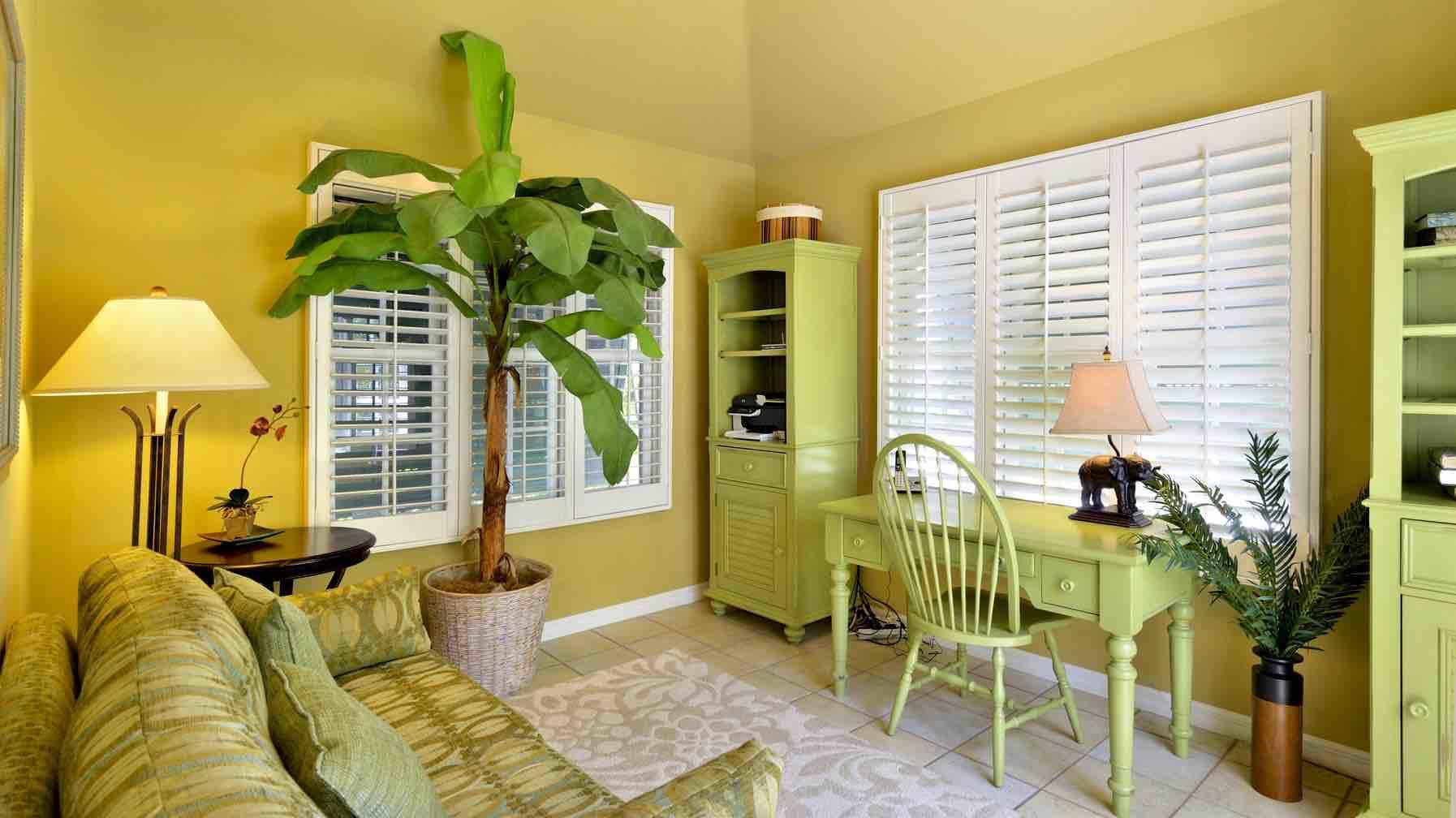 The master bedroom suite includes a separate sitting room. Perfect as an office...
