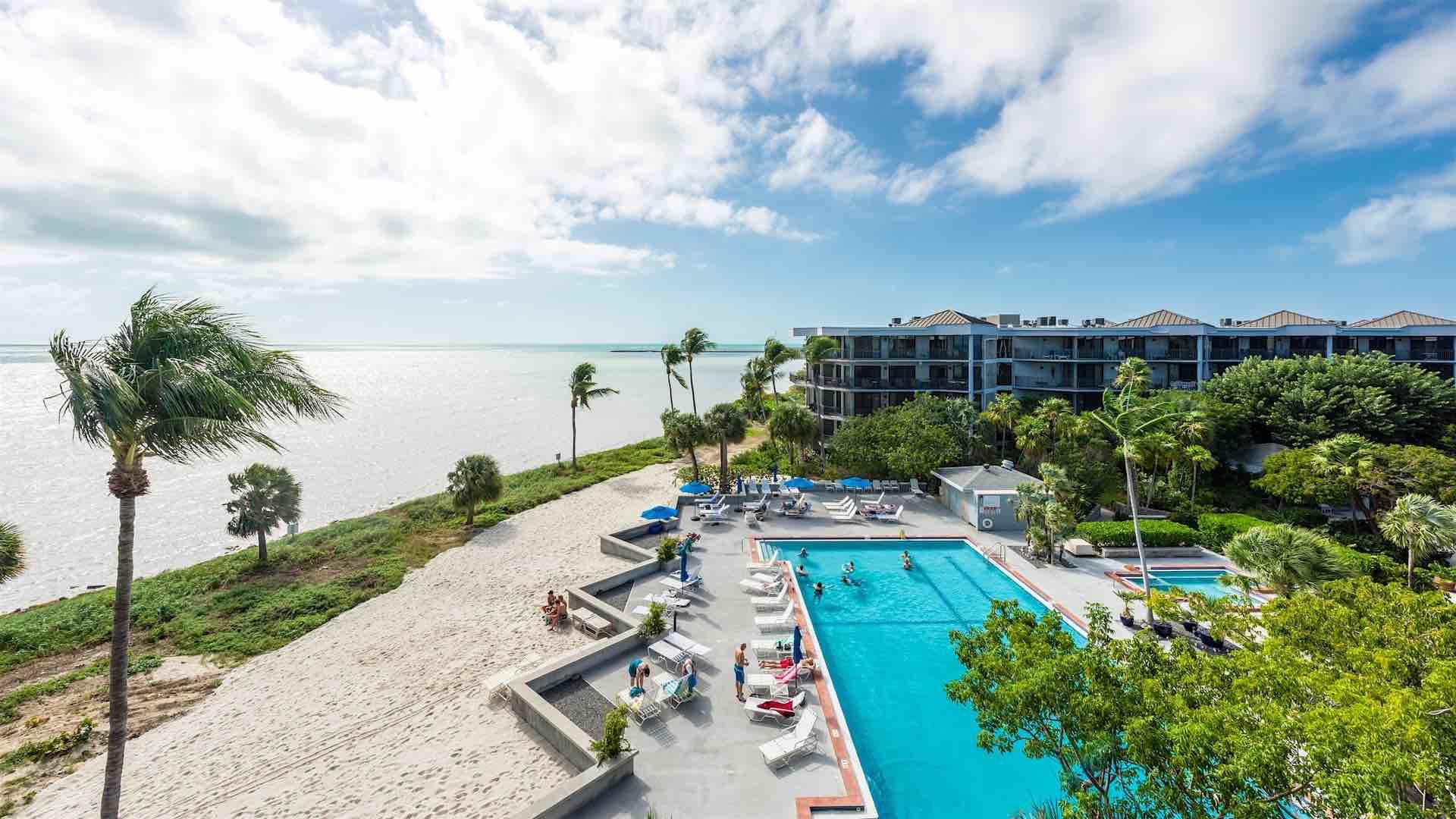 You'll have a front row view of the Community Pool and Ocean from the balcony...