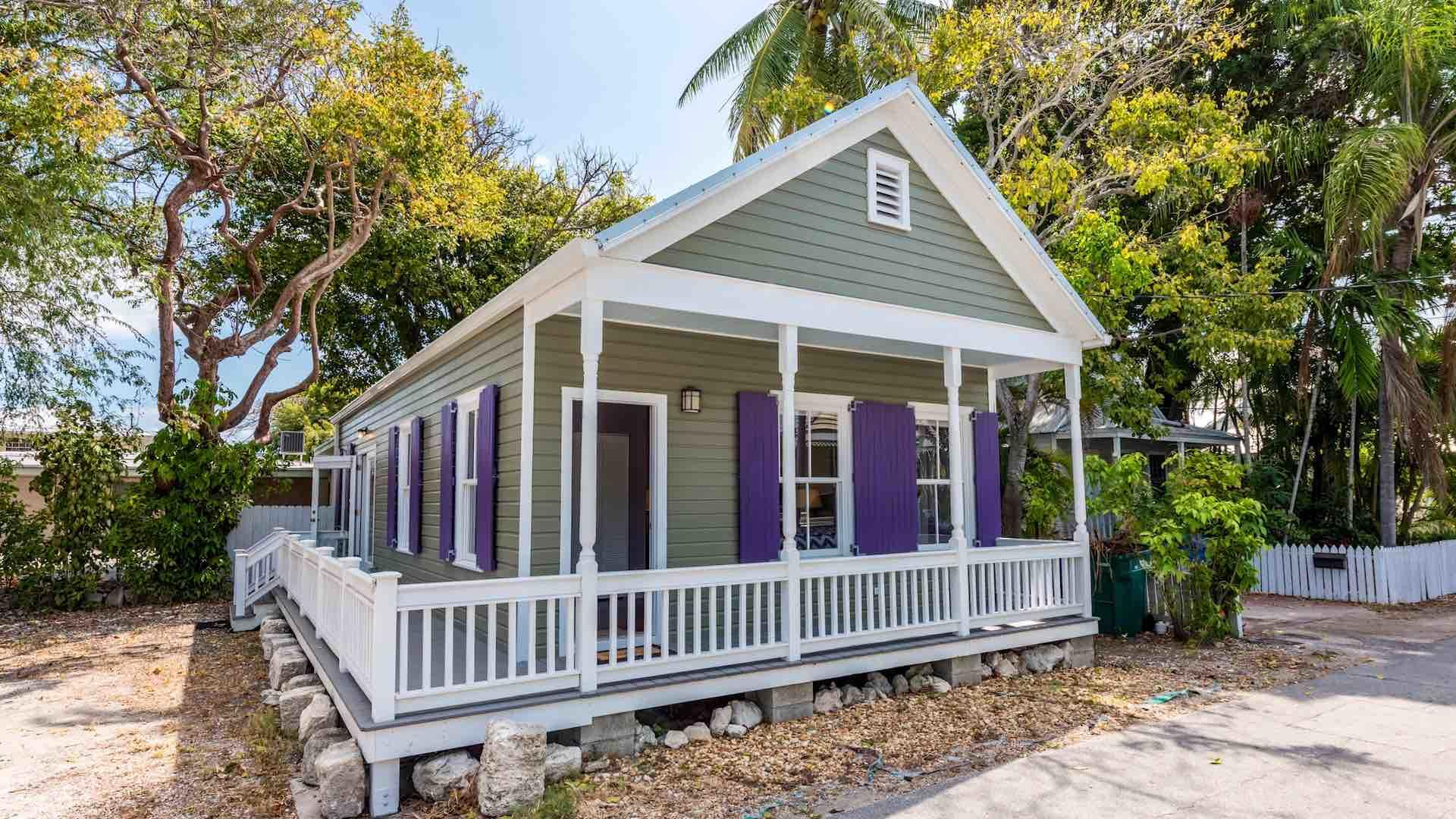 Southernmost Solace is a charming private home that is located on Elizabeth Street, just steps from the Southernmost Point...