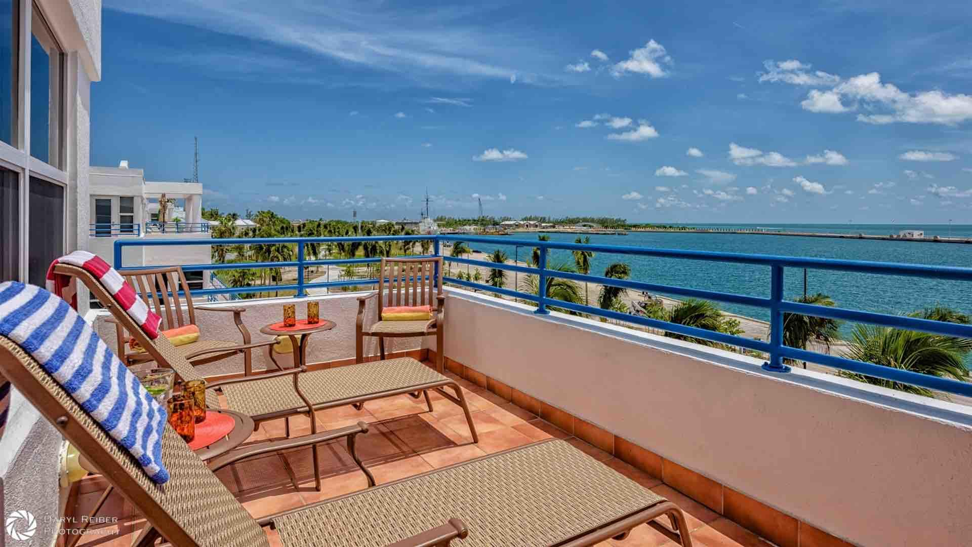 The master bedroom balcony is where you will realize that you are in paradise...