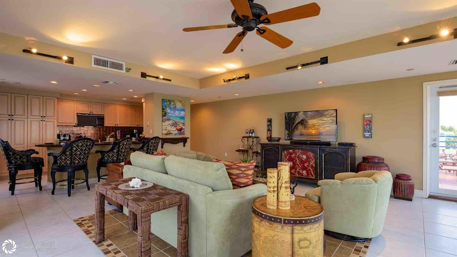 The open living plan is perfect for entertaining...