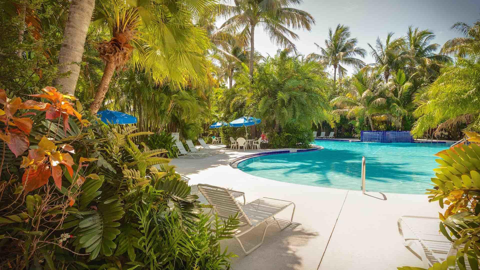 The Community Pool is just down the block, with nearby fitness room & restrooms...