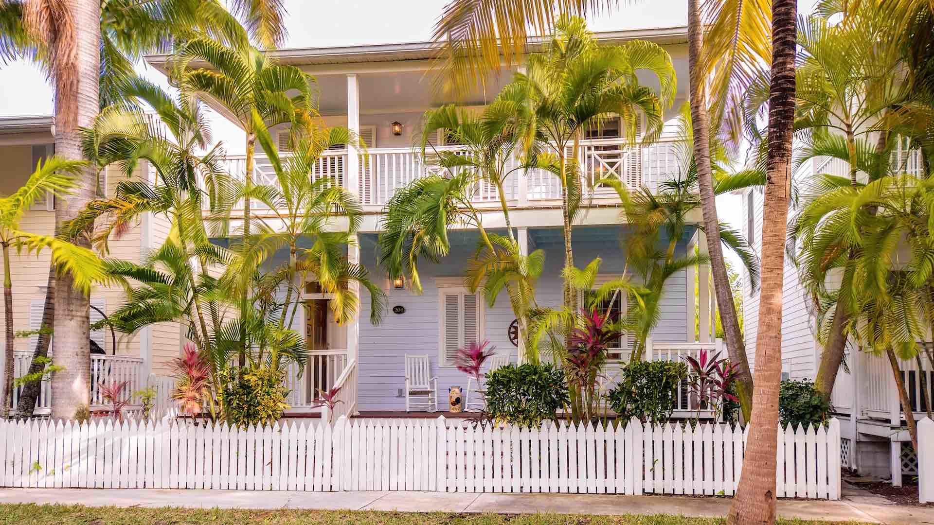 La Provence Tropicale is located in The Sanctuary at the Key West Golf Club...