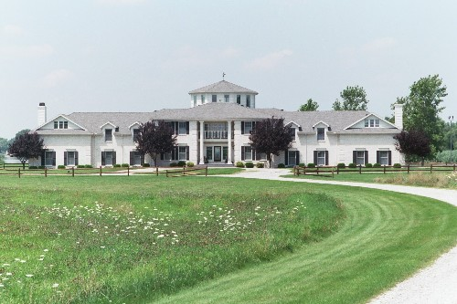 Luxury Home Front View