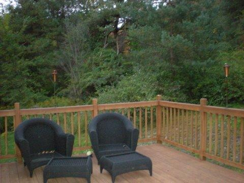 Enjoy Nature from this wonderful deck