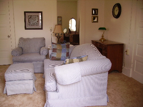 Living Room in Upper unit