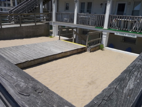 Private Sand Area for Building